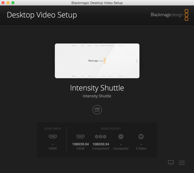 Blackmagic Intensity Usb And Mac Setup Troikatronix Forum