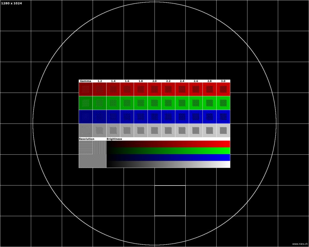 Картинка для теста проектора